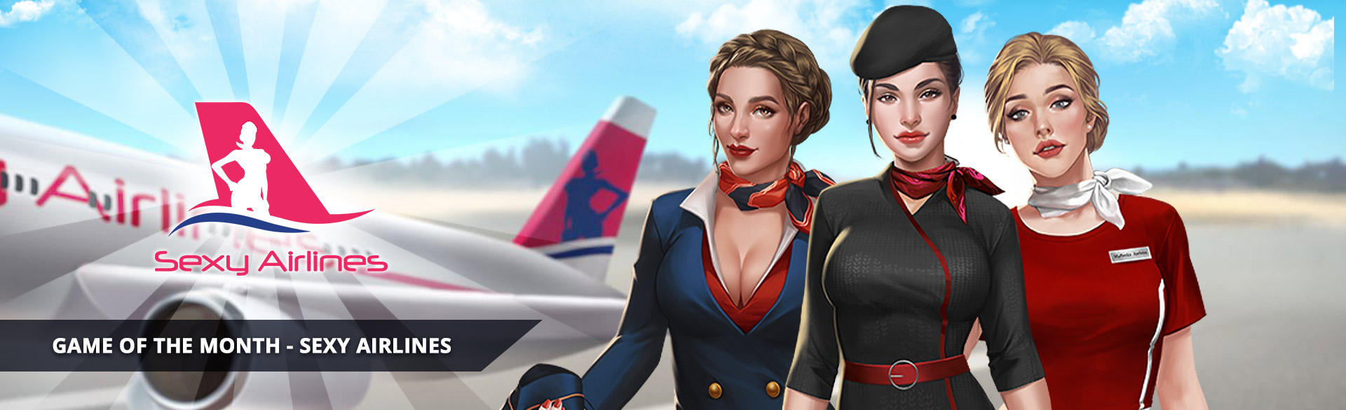 Sexy Airlines hentai game